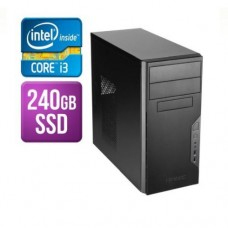 Spire Tower PC, Antec VSK3000B, i3-8100, 8GB, 240GB SSD, Antec 500W, DVDRW, KB & Mouse, No Operating System